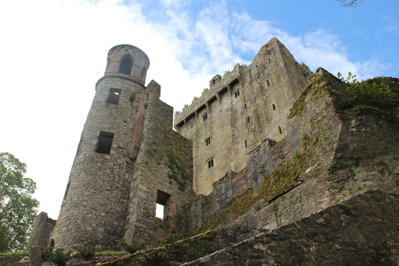Blarney Castle Ireland Cork Outdoor Medieval Blarney Castle