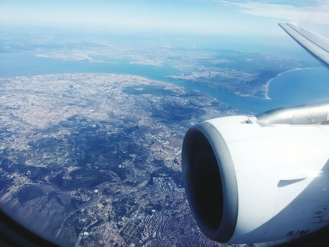 Travel Holidays Portugal Travelling ✈ TAP A-319 TAP Air Portugal Holiday And Relaxing Enjoying Life Taking Photos Aerial View Lisboa Portugal