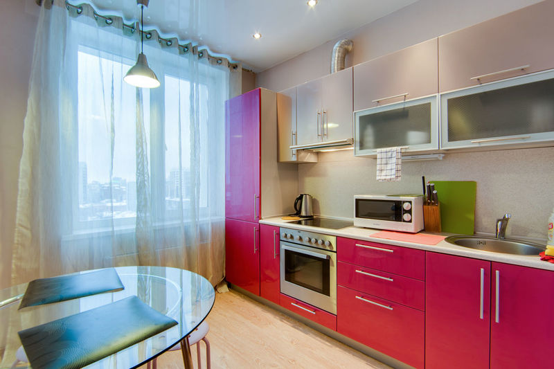 Home Domestic Room Furniture Home Interior Domestic Kitchen Indoors  Kitchen Architecture Cabinet Modern Window No People Home Showcase Interior Lighting Equipment Built Structure Building Kitchen Counter Household Equipment Flooring Appliance Luxury Wood Exhaust Fan Apartment