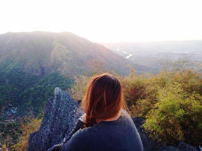 Looking for the sunset from the summit of Mt. Pamitinan, luv it! Touchdown Mtpamitinan IluvU