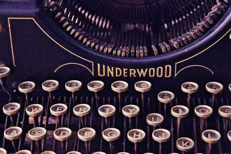 Writing Instrument Writing Creativity Antique Typewriter Text No People Pattern Full Frame Western Script Large Group Of Objects Backgrounds Close-up Communication Design Metal Arrangement Capital Letter Abundance