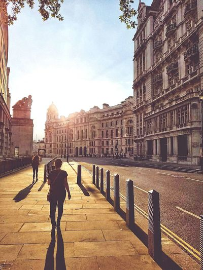 Walking the streets of...London Outdoors Architecture Walking The Streets Sunset Relaxing Building Exterior EyeEmNewHere The City Light Adventures In The City