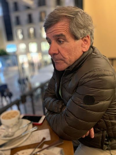Lost in thought Sadness One Person Focus On Foreground Mature Adult Real People Portrait Adult Mature Men Males  Men Waist Up Looking Warm Clothing Casual Clothing Side View Contemplation Gray Hair Jacket