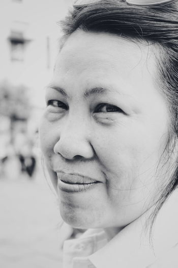 Black And White Black And White Photography Beautiful Woman 50 Years Old Mature Woman Portrait Human Face Human Eye Headshot Beauty Looking At Camera Close-up This Is Natural Beauty International Women's Day 2019 The Art Of Street Photography