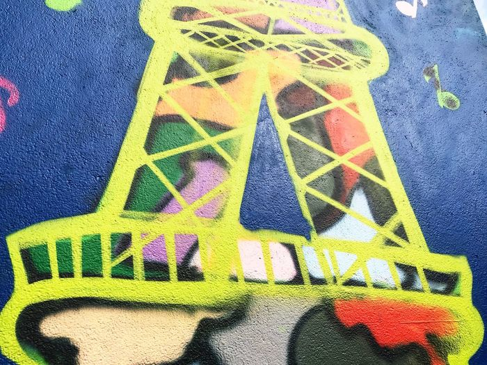 Text Multi Colored Close-up Communication No People Day Wallpainting Wallpaint Wall Wallpaintings Yellow Architecture Indoors