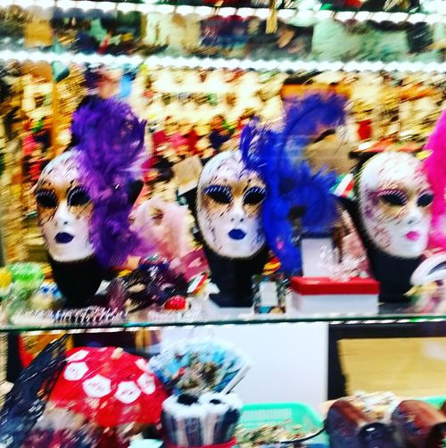 AndjelaMancic EyeEm Gallery EyeEm Best Shots First Eyeem Photo Venice Italy Masks Carnevale Vintage Colorful