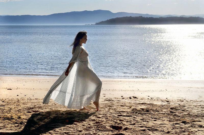 Just me in a paradise Braziliangirl Brazilian Woman Water Young Women Beach Women Sea Beauty Females Beautiful Woman Standing Glamour