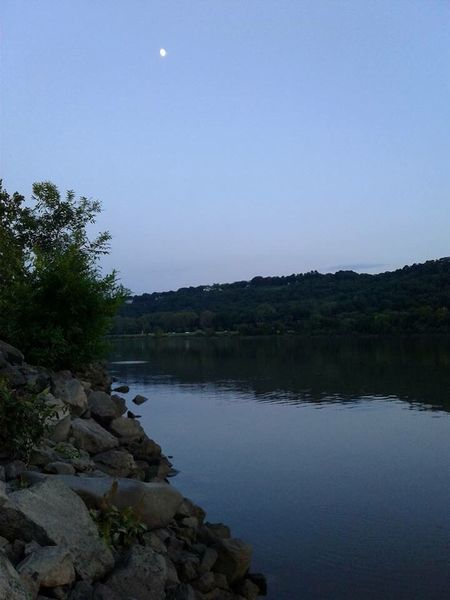 The Week On EyeEm Gone Fishing Cooks Landing Arkansas River Nature Moon Water Tree Tranquil Scene Tranquility Outdoors Beauty In Nature No People Sky Lake Scenics Clear Sky Landscape Day Astronomy