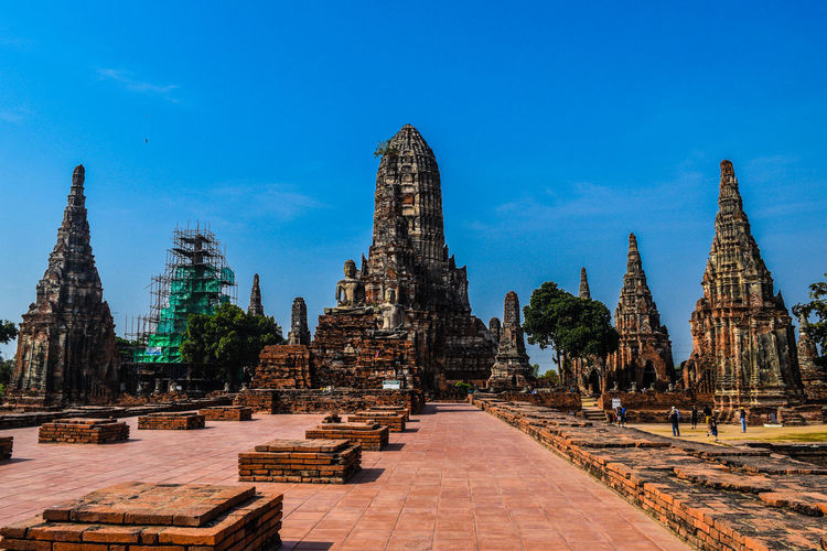 Wat Chaiwatthanaram Temple Buddhism Ancient Architecture Ancient Outdoors Day Religion History Culture Architecture Heritage Restoring The Architect - 2017 EyeEm Awards The Great Outdoors - 2017 EyeEm Awards