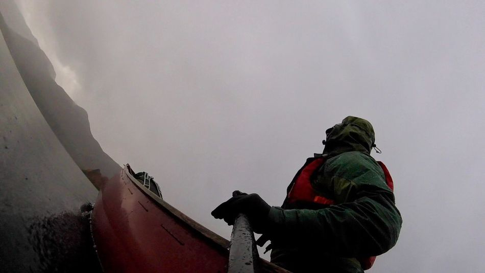 Canoe Goprosession Canoeing Paddle Lake District National Park Outdoors Adventure