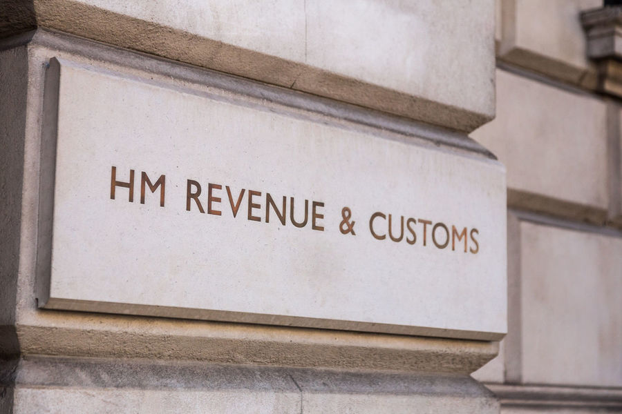 Architecture British Culture Building Exterior Business Central London Colour Image Copy Space Customs Earnings Economy Finance Her Majesty HMRC London Money No People Revenue Self Employed Tax Text Uk