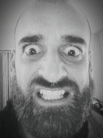 Looking At Camera Human Face Headshot Angery