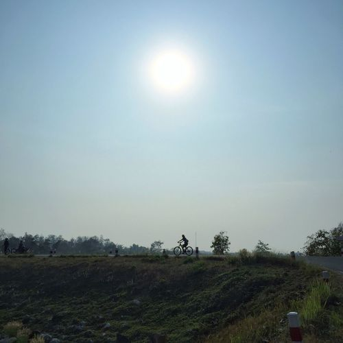 Bike Ride Summer Nature Chiangmai Thailand Outdoors Celebrate Your Ride