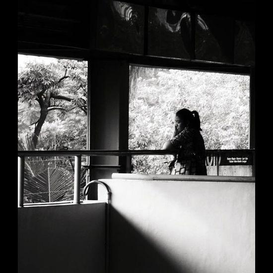 Igbest Dark Images IGDaily Igmanila Ig_philippines Stranger Streetstyle Streetphotography Monochrome_asia Bnw_city Bnw_manila Bnw_philippines Silhouette Train Station