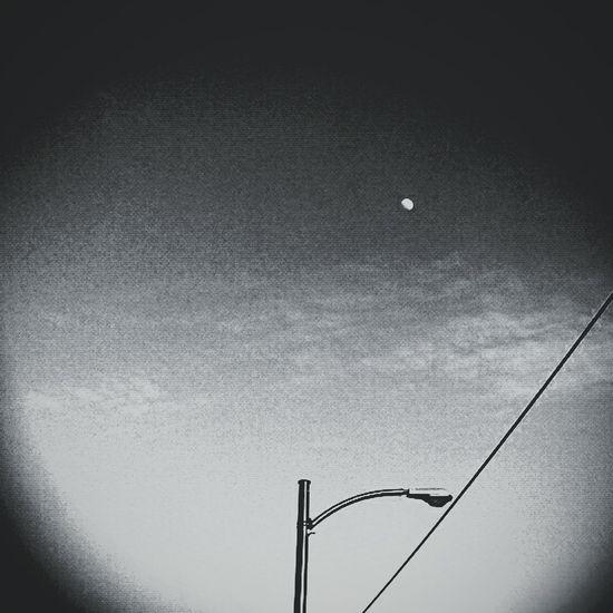 Horizon's Horizon Phoneography Soullessphotography Urbianretrocamera EyeEm Moon Satellite Laluna