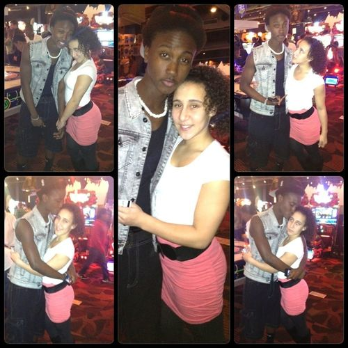 At Dave & Busters Lass Night For Sis Birthday