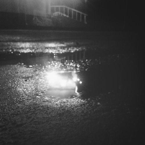 Asphalt Reflection Rainy Days