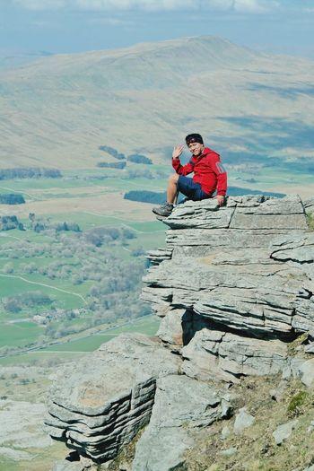 Summer Happy People First Eyeem Photo Enjoying Life three peak challenge done at ingleborough uk