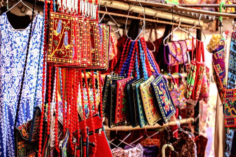 Retro TheWeekOnEyeEM Bestoftheday Purse Multi Colored Hanging Market Retail  Coathanger For Sale Choice Variation Arts Culture And Entertainment Close-up Market Stall Retail Display Stall Sale Store Window The Traveler - 2018 EyeEm Awards The Still Life Photographer - 2018 EyeEm Awards The Art Of Street Photography