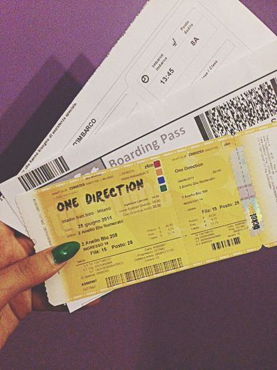 One Direction live in San Siro! Milan I'm coming! ?✈️ Allready Onedirection SanSiro