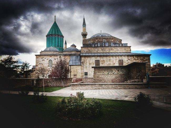 Mevlana Museum Architecture Cloud - Sky Religion Dome Cultures First Eyeem Photo