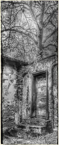 Empty Places Abandoned House BW Transcience Outofnowhere