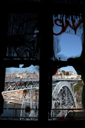 Architecture Bridge Gustave Eiffel In Porto, Portugal Ponte D.Luis The Beauty & The Monster The Architect - 2016 EyeEm Awards