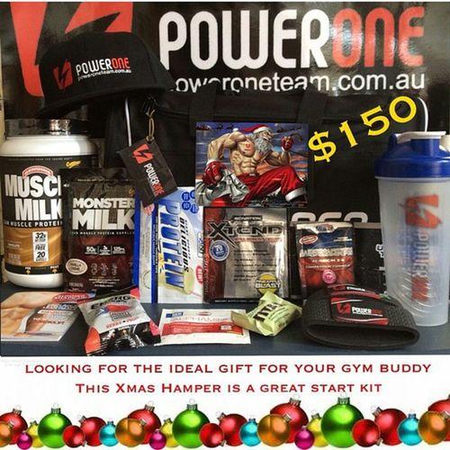 Great xmas gift ideas! Go to Www.poweroneteam.com.au Powerone Xmas Hamper Gift gym fitness protein supplements picoftheday photooftheday