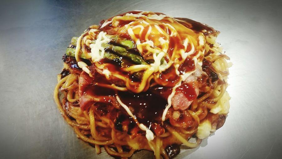 My love for okonomiyaki is getting serious! 😋😋😋 Japan Adventure Eating Kyoto,japan Okonomiyaki:)