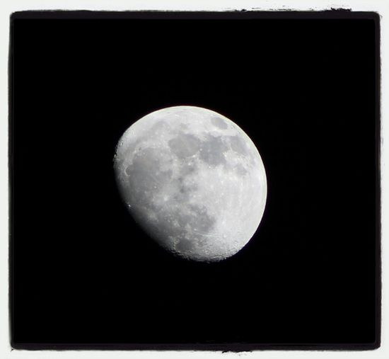 Night Sky Moon Canon DSLR