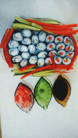 Cooking Time Homemade Sushi Damniloveit