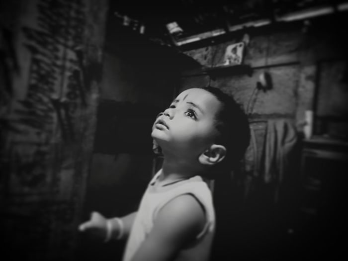 Indoors  Abandoned Old-fashioned Window People Childhood Beauty Child Adult One Person Day Real People Nithibgireesh Kerala Kids Thrissur