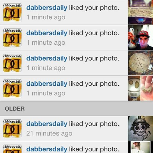 Thanks to @dabbersdaily for liking a bunch of my shit🙏Dabbersdaily Thc Fire Marijuana Ganja Weed Cannabis Dank Thc High Herb Love 420 HighTimes MMJ Stoned Grass Extracts