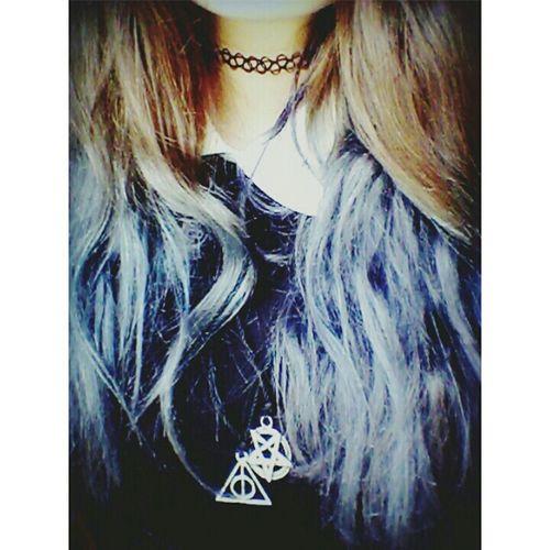 Hi! Cheese! My Hair <3 Blue Hair ❤ Grunge Fuckyololovepf First Eyeem Photo Girl Vitange Pastel Goth