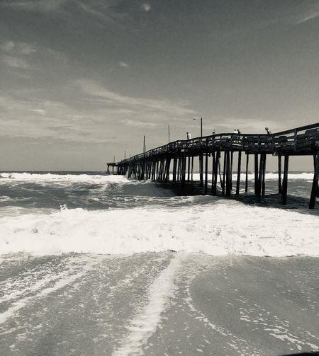 Pier. Ocean