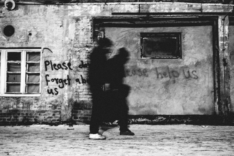 ghosts in town Abandoned Appealing B & W  Black & White Desperate Evanescence Freezing Cold Fuji X-T10 Ghosts Ghosts In The City Helping Refugees Helpless Hopeless Makeshift Home Migrants Migrants Crisis Refugees Refugees Crisis Reportage Shelter Stranded The Photojournalist - 2017 EyeEm Awards Warehouse Winter