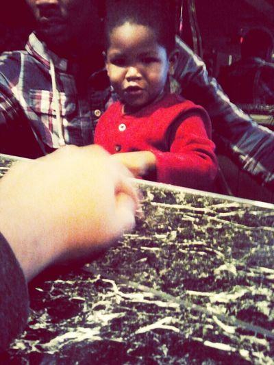 Playin With My Nephew