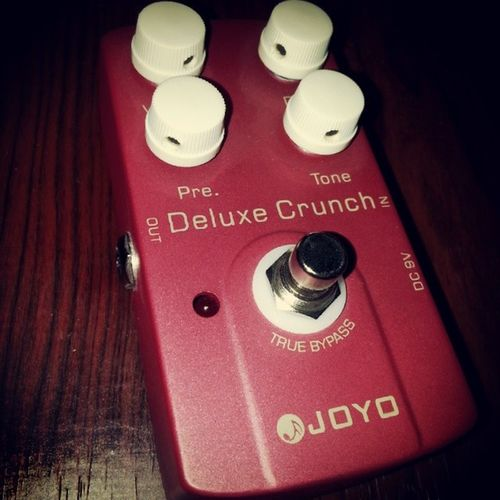 Joyopedals this thing sounds amazing! Pedaldreams Pedalporn Rock distortion crunch dirty dry versatile pedal