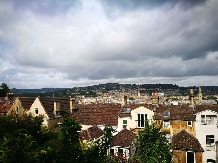 Cloud - Sky House Cityscape Outdoors No People Building Exterior Architecture Day Travel Destinations Sky City Clouds And Sky City Of Bath City In Valley Bath Abbey  City Centre Historic Building Historic City