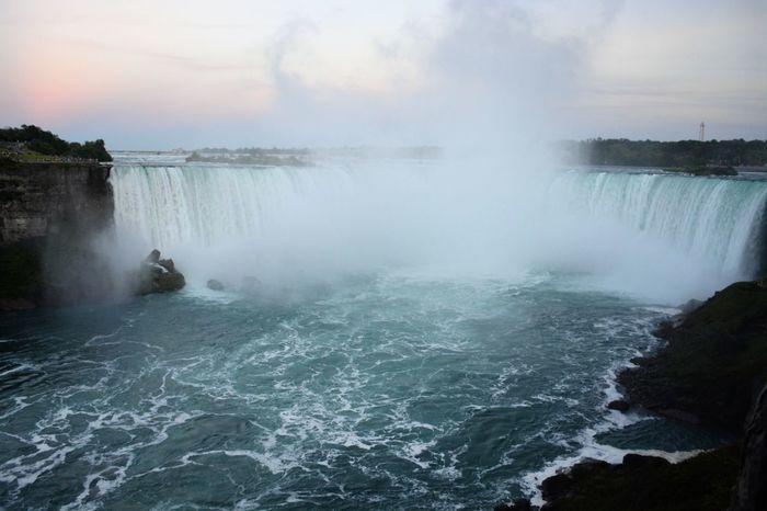 Nature Niagarafalls No People Outdoors Power In Nature Splashing Water Waterfall