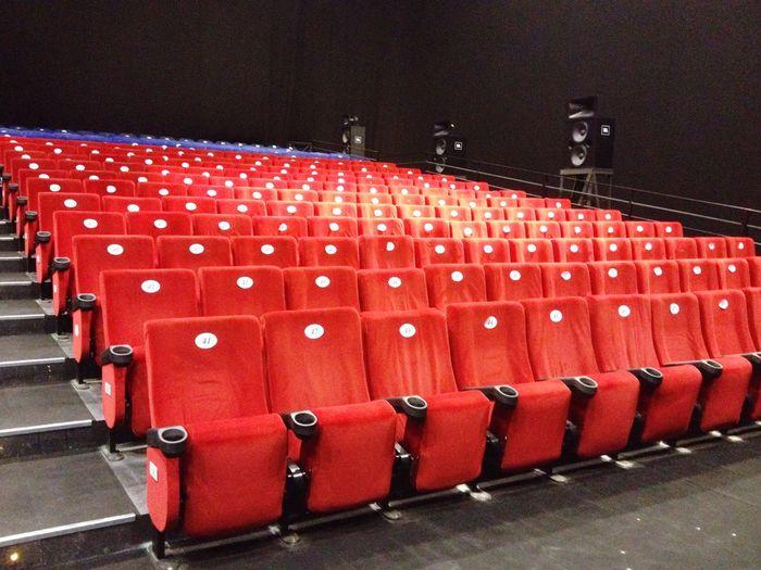 Theatre Cinema Studios Red