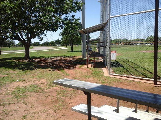 Baseball Field Soaking Up The Sun