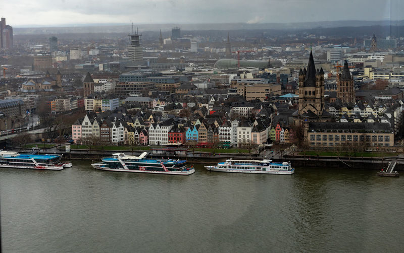 Colorful promenade Building Exterior Architecture Water Nautical Vessel Built Structure City Transportation Mode Of Transportation Cityscape Building Waterfront No People Day River High Angle View Residential District Outdoors Rhine Rhine River SONY A7ii Sony Eyeemcitys Old Town Architecture City Cityscape Sky Travel Destinations