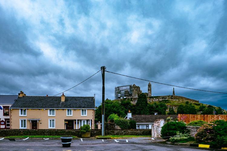 Abbey Castle Convent Grave Hore Abbey Ireland Irish Monastery Ruins