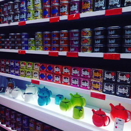 ☕️🎀👑 Kusmitea Kusmi Tea Kusmilove Teaaddict Paris Taking Photos Shopping Time Enjoying Life