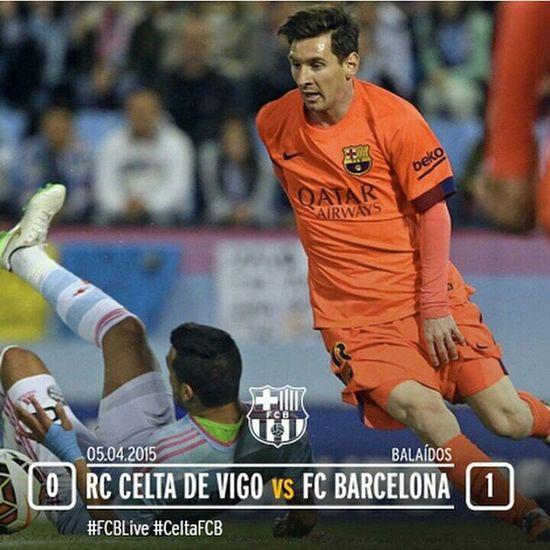 Alhamdulillah masih di pucuk biarpun rival sebelah abis menang 9:1 dengan score 0:1 aja udah cukup buat barca memperlebar jarak lagi,thanks mathieu god job jugadors del barca FCBarcelona  BBVA LaLiga Celtadevigo