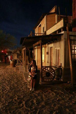 Nightfall Halloween event Old Tucson Studios OldTucson Saguaro National Park West Halloween 2014 Old West