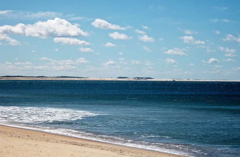 Beach Beauty In Nature Blue Cloud - Sky Day Horizon Over Water Nature No People Outdoors Sand Scenics Sea Sky Tranquil Scene Tranquility Water Wave 17.62° My Best Photo