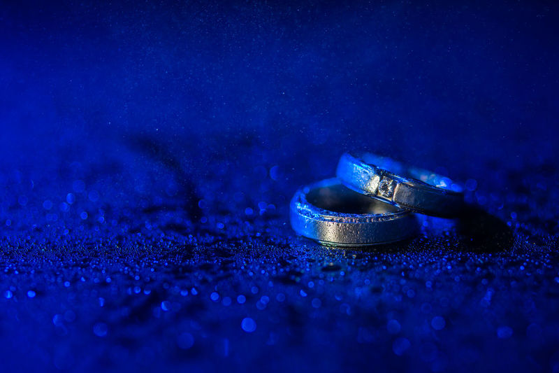 Blue Close-up Gold Jewelry Love Ring Wedding Wedding Ring First Eyeem Photo