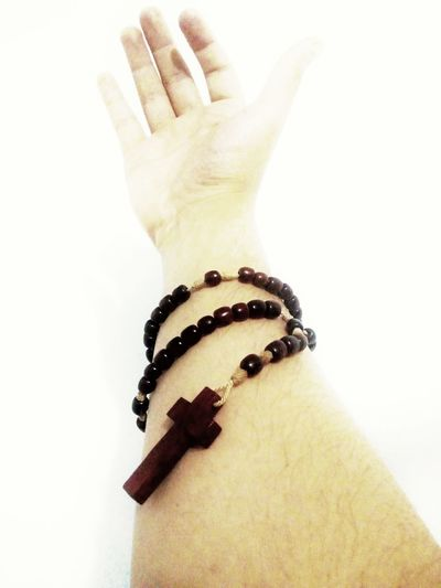 fé #catolic #faith #Blessed Human Hand White Background Close-up First Eyeem Photo